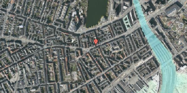 Stomflod og havvand på Vesterbrogade 34, st. tv, 1620 København V