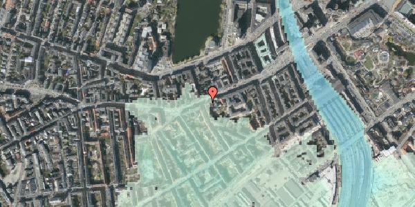 Stomflod og havvand på Vesterbrogade 37, st. th, 1620 København V