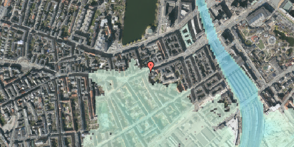 Stomflod og havvand på Vesterbrogade 37, 3. th, 1620 København V