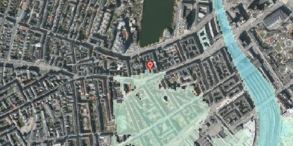 Stomflod og havvand på Vesterbrogade 38A, 3. , 1620 København V