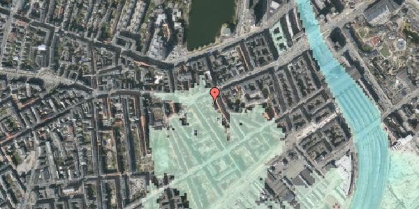 Stomflod og havvand på Vesterbrogade 41A, 1. , 1620 København V