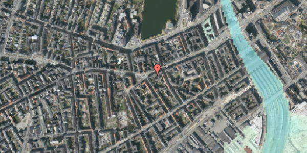 Stomflod og havvand på Vesterbrogade 41B, 4. , 1620 København V