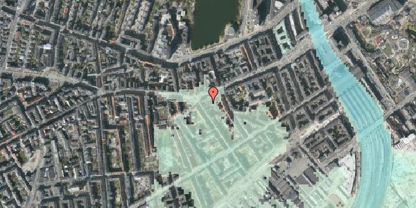 Stomflod og havvand på Vesterbrogade 41C, st. , 1620 København V