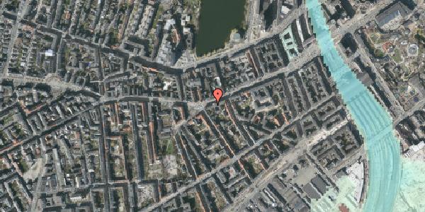 Stomflod og havvand på Vesterbrogade 41E, kl. , 1620 København V
