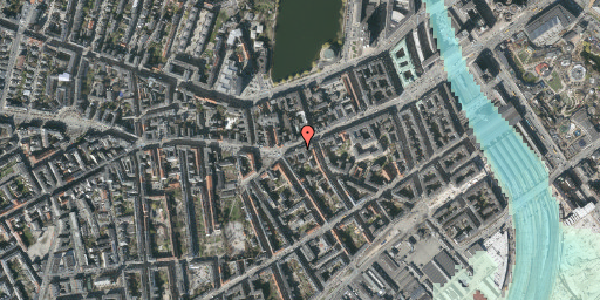 Stomflod og havvand på Vesterbrogade 41, st. th, 1620 København V