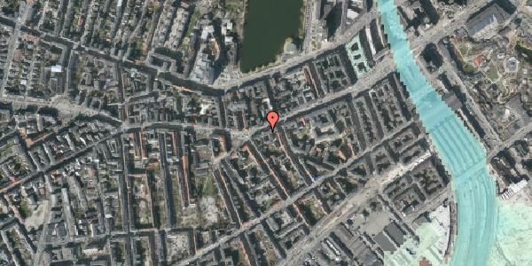 Stomflod og havvand på Vesterbrogade 41, 2. tv, 1620 København V