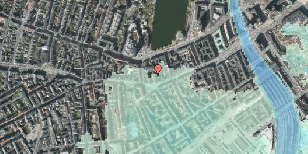 Stomflod og havvand på Vesterbrogade 42, 3. th, 1620 København V
