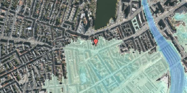 Stomflod og havvand på Vesterbrogade 44, 3. th, 1620 København V