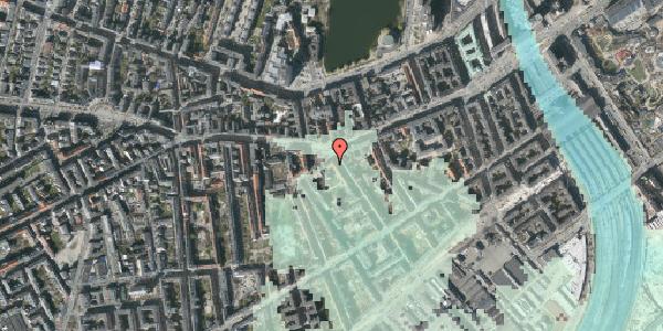 Stomflod og havvand på Vesterbrogade 47, 3. th, 1620 København V