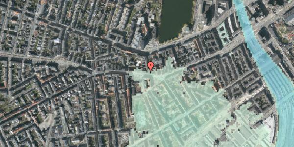Stomflod og havvand på Vesterbrogade 50, st. tv, 1620 København V