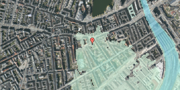 Stomflod og havvand på Vesterbrogade 51, 2. th, 1620 København V