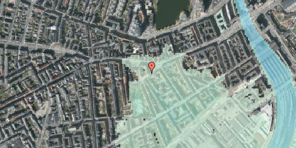 Stomflod og havvand på Vesterbrogade 53, st. , 1620 København V