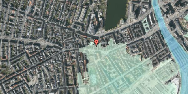 Stomflod og havvand på Vesterbrogade 54A, 1. th, 1620 København V