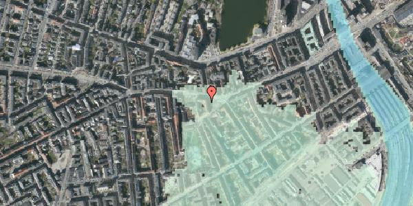 Stomflod og havvand på Vesterbrogade 55B, 2. th, 1620 København V