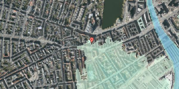 Stomflod og havvand på Vesterbrogade 56A, 3. , 1620 København V