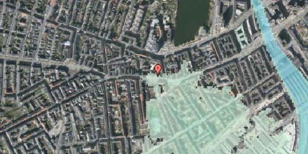 Stomflod og havvand på Vesterbrogade 56B, 1620 København V