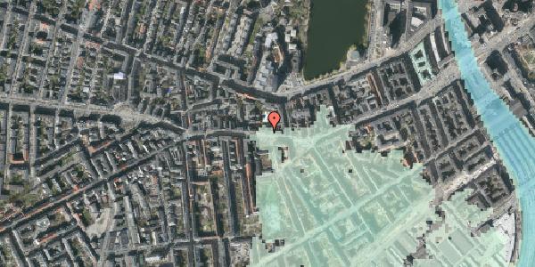 Stomflod og havvand på Vesterbrogade 56C, 1620 København V