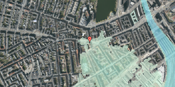 Stomflod og havvand på Vesterbrogade 57, 1. th, 1620 København V