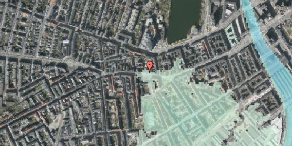 Stomflod og havvand på Vesterbrogade 58A, kl. , 1620 København V