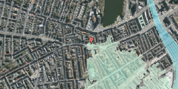 Stomflod og havvand på Vesterbrogade 58B, 4. , 1620 København V