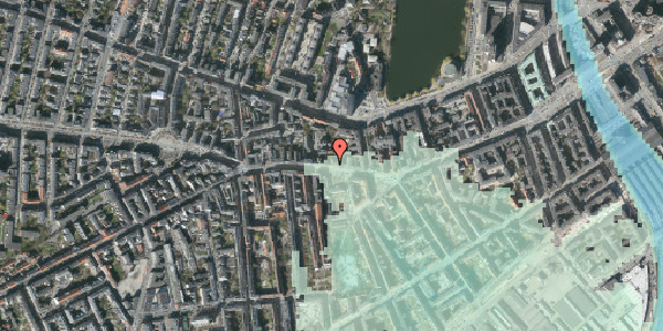 Stomflod og havvand på Vesterbrogade 60, st. tv, 1620 København V