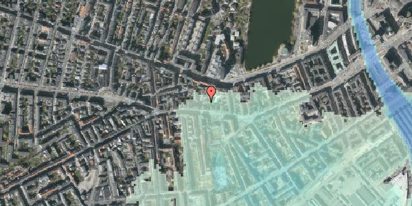 Stomflod og havvand på Vesterbrogade 62A, 1. , 1620 København V