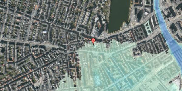 Stomflod og havvand på Vesterbrogade 62C, 1. th, 1620 København V
