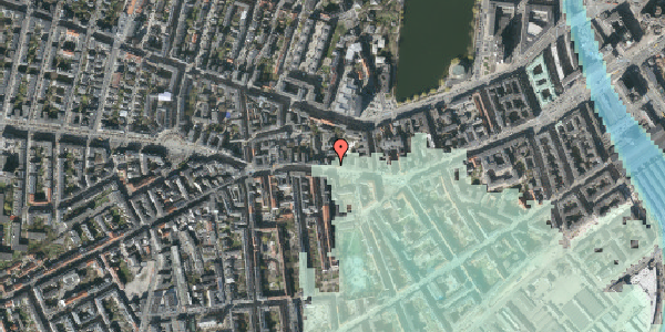 Stomflod og havvand på Vesterbrogade 62, 1. tv, 1620 København V