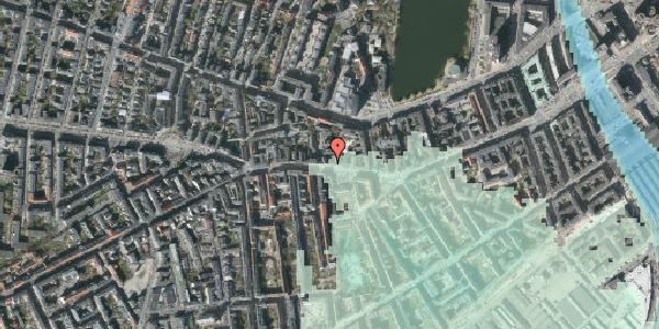 Stomflod og havvand på Vesterbrogade 62, 3. th, 1620 København V