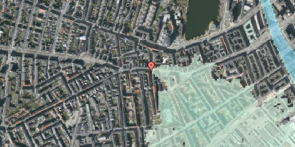 Stomflod og havvand på Vesterbrogade 63, st. tv, 1620 København V