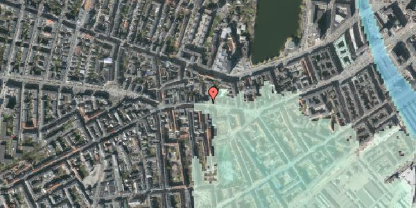 Stomflod og havvand på Vesterbrogade 64, 1. th, 1620 København V