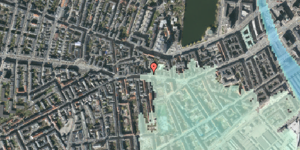 Stomflod og havvand på Vesterbrogade 64, 3. tv, 1620 København V