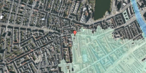 Stomflod og havvand på Vesterbrogade 65, st. tv, 1620 København V