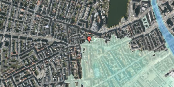 Stomflod og havvand på Vesterbrogade 66B, 1. , 1620 København V