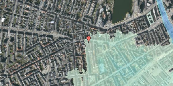 Stomflod og havvand på Vesterbrogade 67, 3. tv, 1620 København V