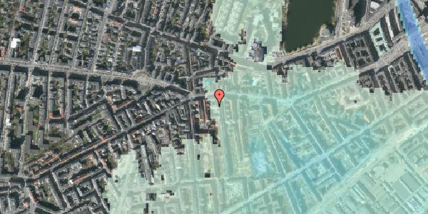 Stomflod og havvand på Vesterbrogade 69A, 2. th, 1620 København V