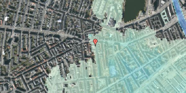 Stomflod og havvand på Vesterbrogade 69A, 3. th, 1620 København V