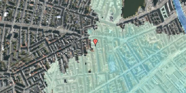 Stomflod og havvand på Vesterbrogade 69D, 1. , 1620 København V