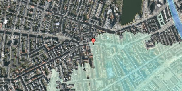 Stomflod og havvand på Vesterbrogade 69, kl. , 1620 København V