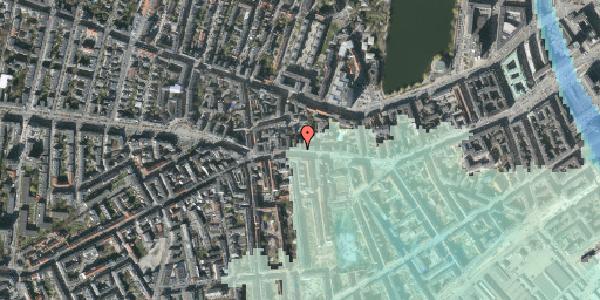 Stomflod og havvand på Vesterbrogade 70, 3. th, 1620 København V