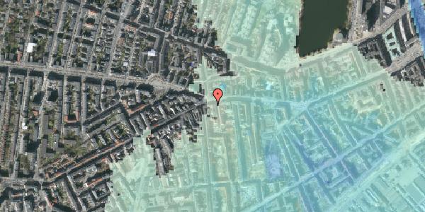 Stomflod og havvand på Vesterbrogade 73B, 3. th, 1620 København V
