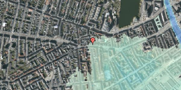 Stomflod og havvand på Vesterbrogade 74, 3. , 1620 København V