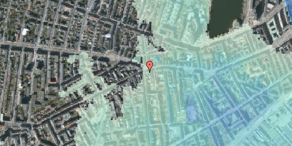 Stomflod og havvand på Vesterbrogade 75, 1. tv, 1620 København V