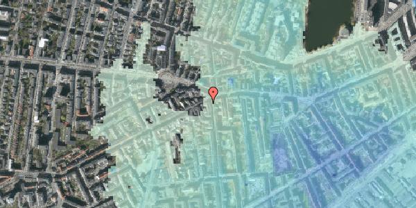 Stomflod og havvand på Vesterbrogade 77, kl. 3, 1620 København V