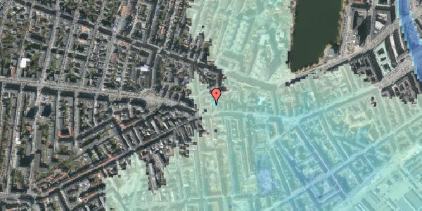 Stomflod og havvand på Vesterbrogade 80A, kl. 2, 1620 København V