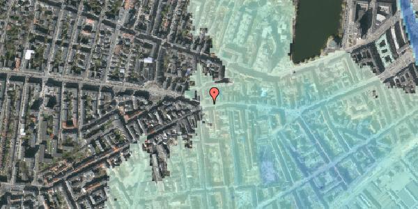 Stomflod og havvand på Vesterbrogade 82, 3. th, 1620 København V