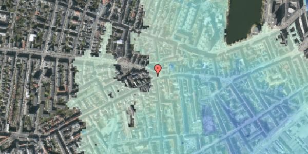 Stomflod og havvand på Vesterbrogade 84, 1620 København V