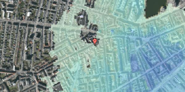 Stomflod og havvand på Vesterbrogade 85, 3. , 1620 København V