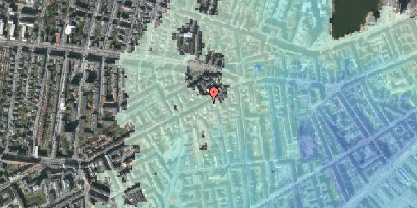 Stomflod og havvand på Vesterbrogade 87, kl. 2, 1620 København V
