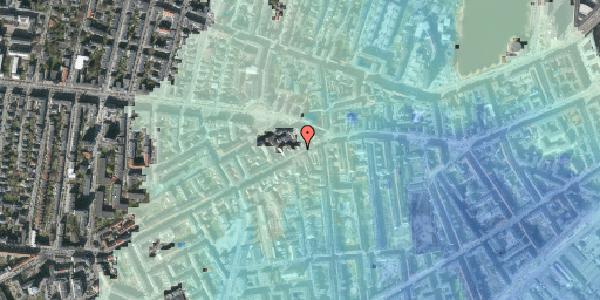 Stomflod og havvand på Vesterbrogade 90, kl. tv, 1620 København V